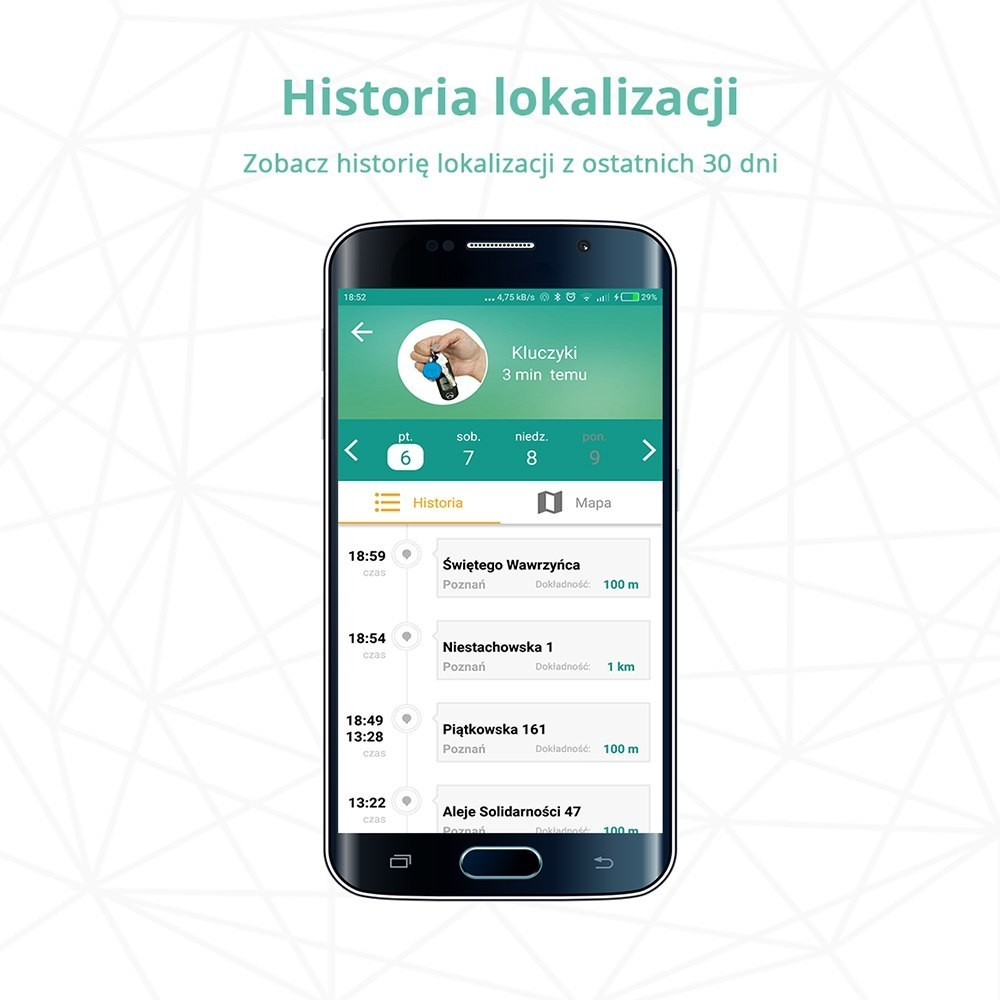 Lokalizator NotiOne Play - Niebieski
