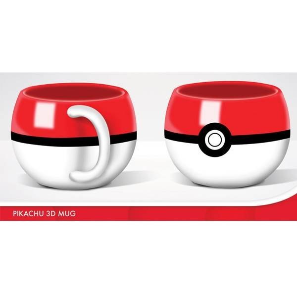 POKEMON - KUBEK 3D POKEMON POKEBALL
