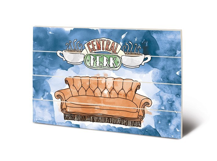 Obrazek na drewnie Friends (Central Perk) - Sofa (40 x 59 cm)