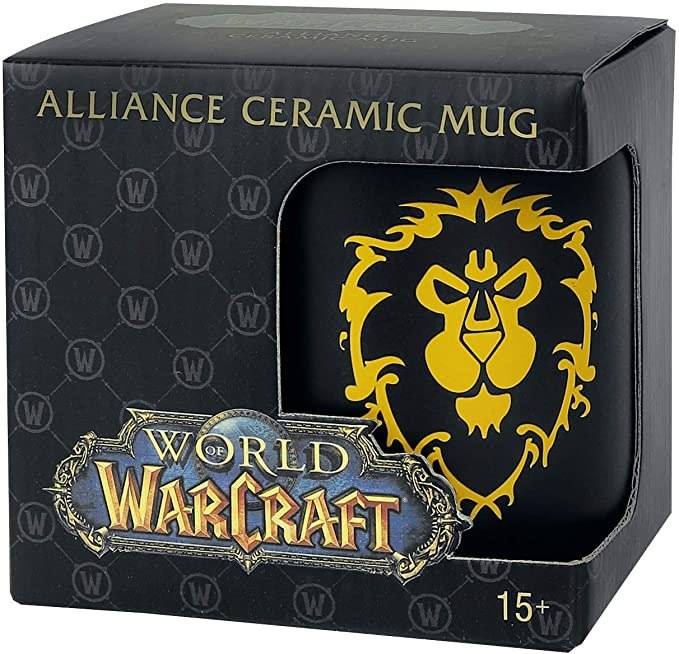 Kubek World of Warcraft Alliance Logo