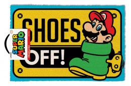 Wycieraczka pod drzwi Nintendo SUPER MARIO (SHOES OFF COLOUR) (60x40 cm)