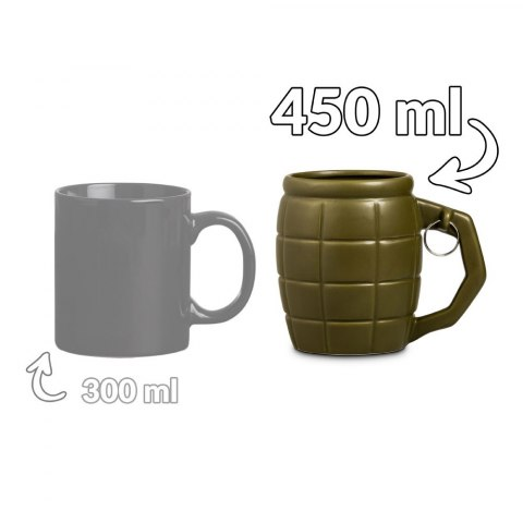 Kubek Granat 450 ml - Zielony